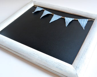 white framed chalk board chalkboard black board gift boys gift kids room 1st day of school photo prop bulletin board