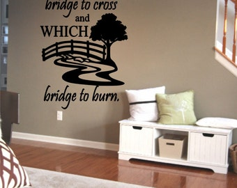 The Hardest Thing In Life Wall Decal
