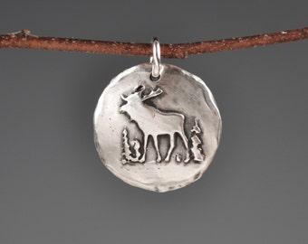 Moose totem-moose talisman-moose charm-amulet-spirit animal-power animal