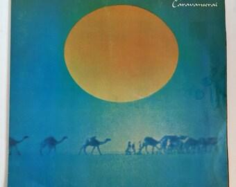 Carlos Santana Caravanserai Vintage Vinyl Record Album LP