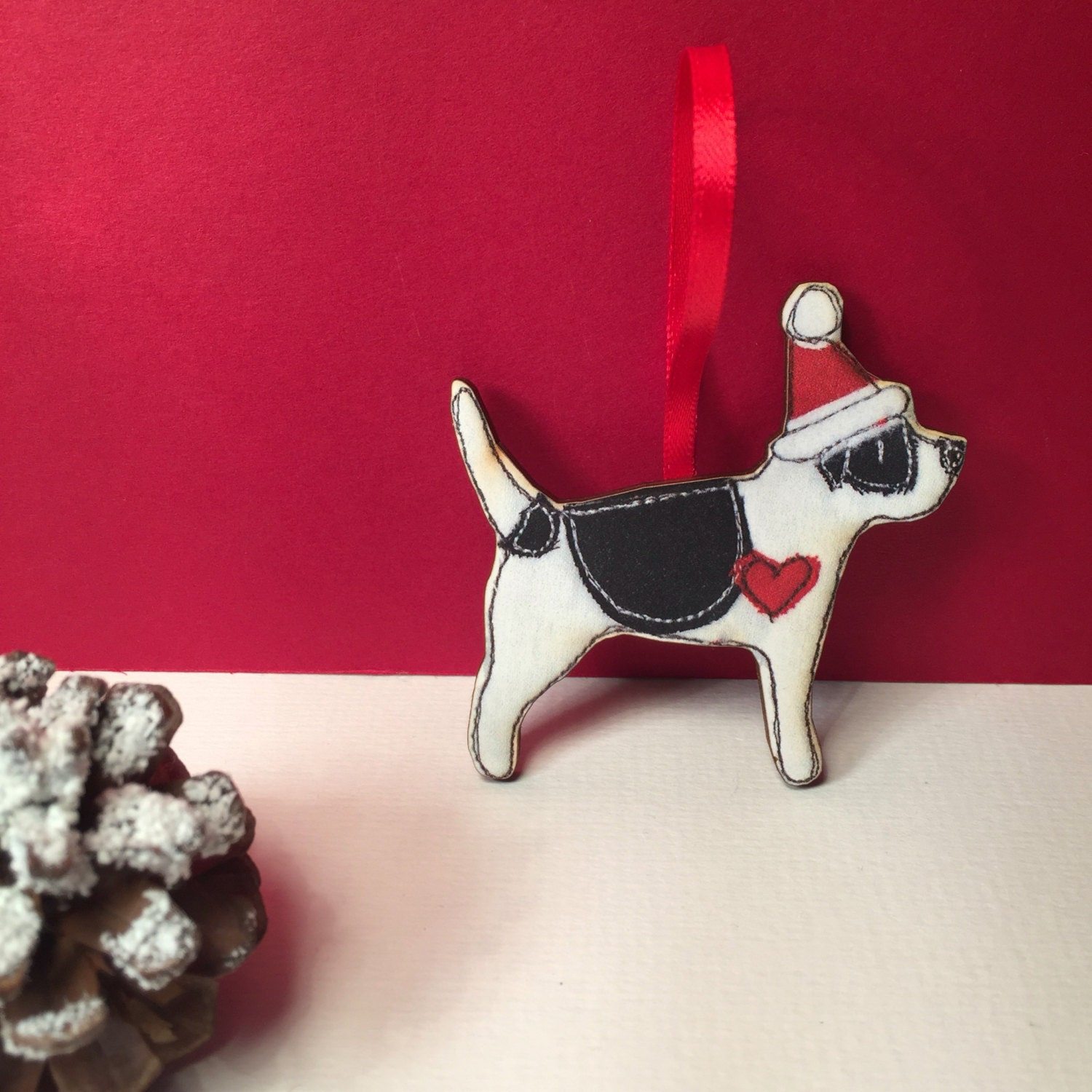 Jack Russell Christmas decoration jack russell terrier