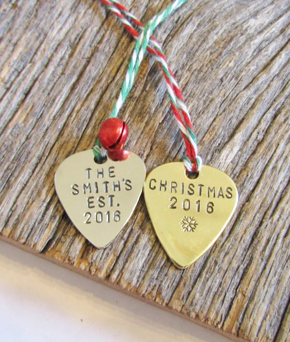 Music Christmas Ornament Guitar Pick Ornament Guitar Christmas