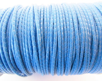 D-02751 - 5m Waxed Polyester Cord with Silk 1,5mm