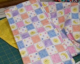 Baby Receiving Blanket, Burper & Bib