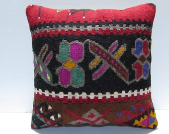 throw pillow 18x18 turkish pillow covers throw pillow cases aztec cushion cover tribal cushion ethnic pillow cover boho pillow cover 29414