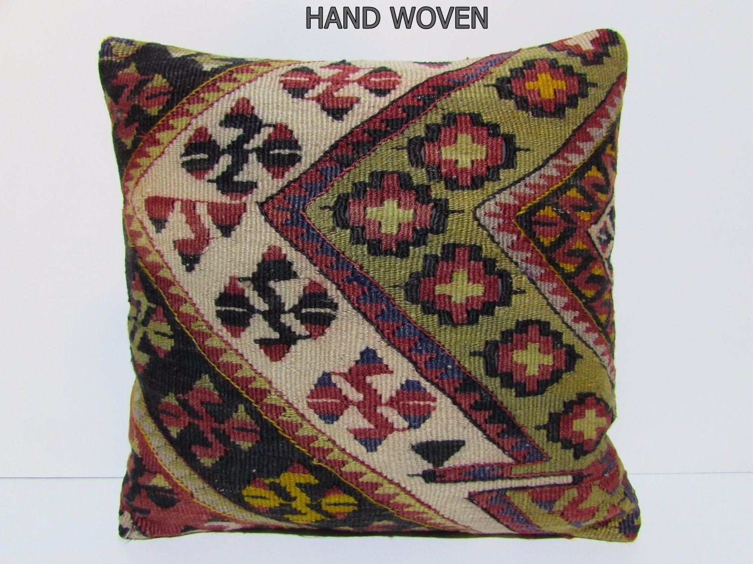 Throw Pillows King Size Bed : 20x20 kilim pillow 20x20 throw pillow 20x20 pillows 50x50