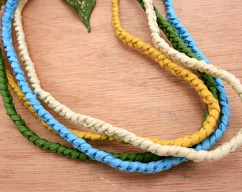 Silk Necklace With Magnet Clasp 46cm (ETO00007)