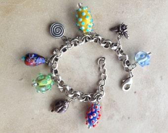 Artsy Fun Charm Bracelet