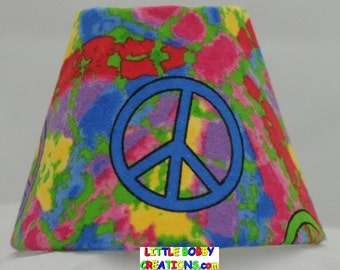 Tye Dye Peace Sign Night Light