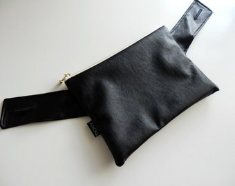 Baby carrier Front pouch/purse /pocket for Ergo 360,Ergo adapt, Lillebaby,Beco gemini  - Faux leather