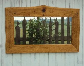 Wood, Mirror frame 73 x 60 cm