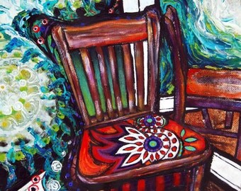 Chair #3, Limited Edition Giclee Print