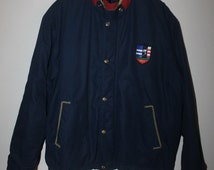 Vintage Polo Ralph Lauren Suicide Ski Jacket Stadium Sportsman P wing 92 Crest