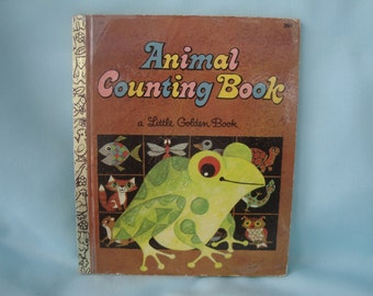 Animal Counting Book/Little Golden Book/Little Golden Animal Counting Book