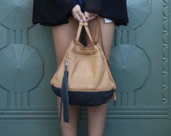Lucy Backpack - Tan