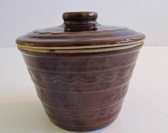 Marcrest Ovenproof Stoneware, Marcrest, Marcrest Stoneware, Stoneware, Marcrest Daisy Dot, Bean Pots, Stoneware Dishes, Stoneware Pots, Pots