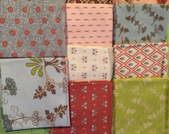 To Norway with Love by Sue Daley Designs for Riley Blake FREE SHIPPING Fat Quarter Bundle