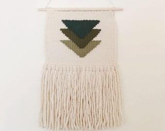 dallas/ hand woven wall hanging