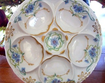 Theodore Haviland LImoge France Oyster Plate