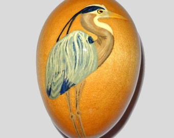 Great Blue Heron Christmas Ornament, EGO-23