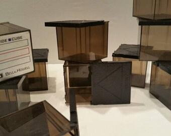 Vintage slide cube slide storage vintage Bell and Howell