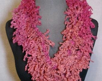 Taffy (Orange and Pink) Varigated Fashion Scarf