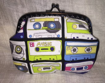 Large Cassette Tape Coin Purse