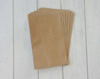 """50 Kraft Paper Bags-5""""x7.5"""""""