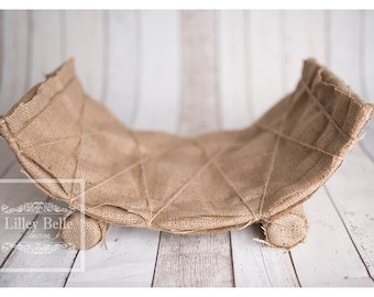 Woodland Curved Newborn Bed Prop