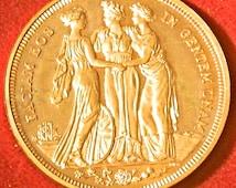 Richard Lobel INA George V Patina Three Graces 1911 Retro Proof Crown X # 98b
