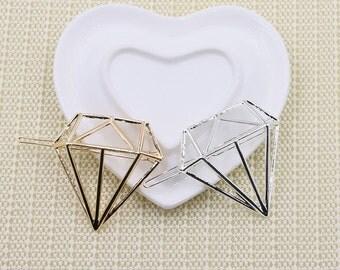 Dimond Gem Hair Clip