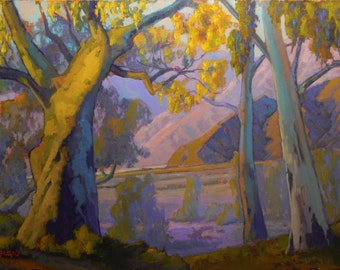 San Diego Back Country  Plein Air.Impressionism.   1600 Dollars  Or Best Offer