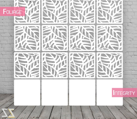 room divider screen partition wall room divider foliage 12