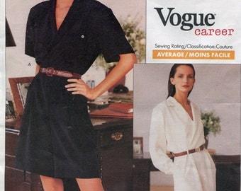 Jumpsuit Pattern Vogue Sewing Patterns 2255 Ralph Lauren Designer Pattern Shorts Mini Dress Pattern Womens Jumpsuit Pattern Size 18-22 uncut