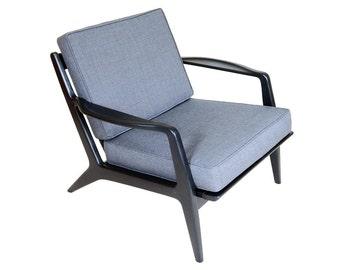 Early Selig Danish Lounge Chair - Kofod Larsen