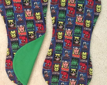 Superhero burp cloths, Marvel burp cloths, Comic hero burp cloths