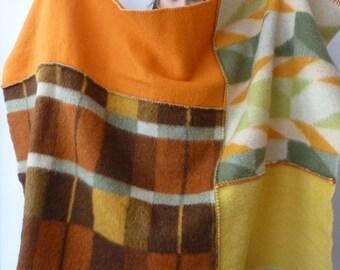 wool plaid , wool blanket, warm blanket wrap , terrace blanket , warm wool blanket , warm blanket, recycled blanket