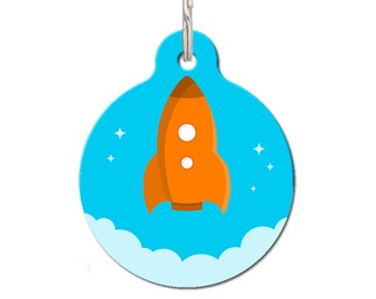 Rocket Pet ID Tag | FREE Personalization