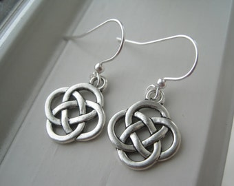 Irish Earrings - Celtic Knot Jewelry - Celtic Knot Earrings - Charm Earrings -Irish Jewelry - St.  Patrick's Day Jewelry