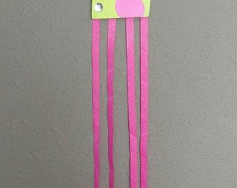 Wooden hair bow holder
