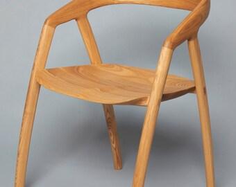 Ash Wood miyazaki Chair