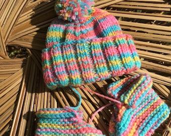 Preemie Hat & Booties