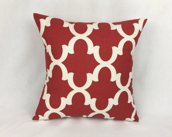 26x26 Euro Sham Pillow Cover 26x26 - Red 26x26 Pillow Cover for Couch