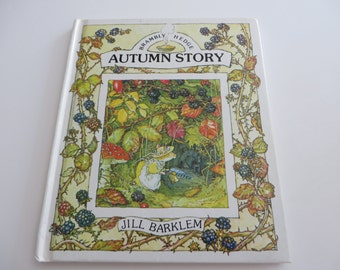 Brambly Hedge Autumn story, vintage 1989  storybook