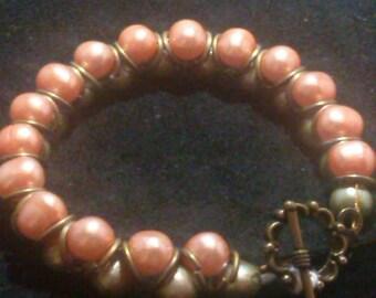 Goddess Pearl Bracelet