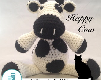 Happy Cow - Crochet Animal (Amigurumi)