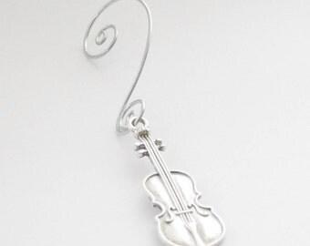 Christmas Ornament. Violin Ornament, Music Ornament, Christmas Ornament, Music Teacher Gift, Musician Gift, Violinist Gift, Cello Ornament