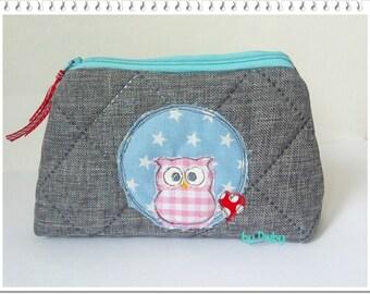 Cosmetics bag OWL