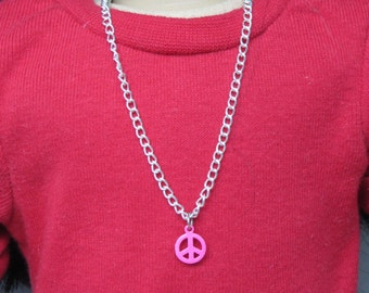 """Necklace - Fits 18"""" Dolls - made by @daydream.dolls"""