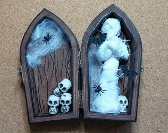 Miniature Mummy Coffin